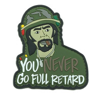 Shellback Tactical Never Go Full Retard PVC Patch