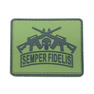 Shellback Tactical Semper Fidelis Punisher PVC Patch