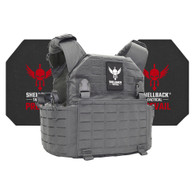 Shellback Tactical Rampage 2.0 Active Shooter Kit with Level IV 4S17 Plates Wolf Grey