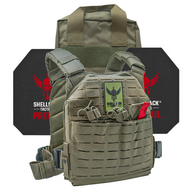 Shellback Tactical Defender 2.0 Active Shooter Kit with Level IV 4S17 Plates Ranger Green