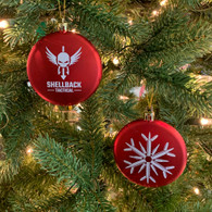 Shellback Tactical Bullet Snowflake Christmas Ornament