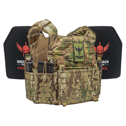 Shellback Tactical Rampage 2.0 Active Shooter Kit with Level IV 1155 Plates Multicam