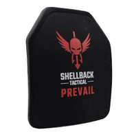 Shellback Tactical Prevail Series 10 x 12 Multi-Curve Stand Alone Level IV Hard Armor Plate Model 1155MC