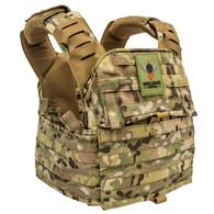 Shellback Tactical Banshee Elite 2.0 Plate Carrier Front - Multicam