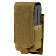 Condor Gen II Single M14 Mag Pouch Coyote 498