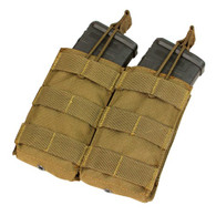 Condor Double Open Top M4 Mag Pouch Coyote 498