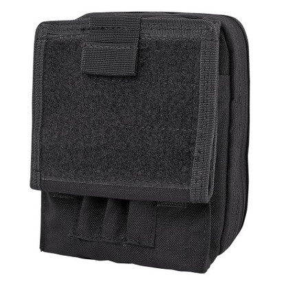 Condor Map Pouch Black