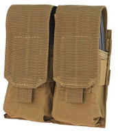 Condor Double M4 Mag Pouch Coyote 498