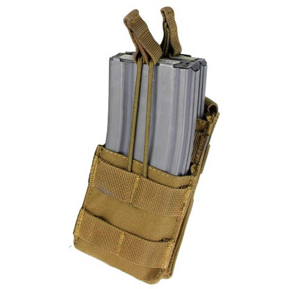 Condor Single Stacker M4 Mag Pouch Coyote 498