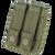 Condor EMT Glove Pouch OD Green Back