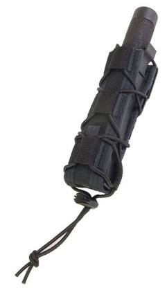 HSGI Belt Mounted Extended Pistol Taco Pouch Black