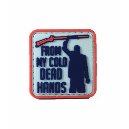 From My Cold Dead Hands PVC Morale Patch