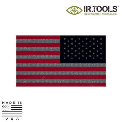 IR.TOOLS Infrared Reversed Flag Patch Full Color