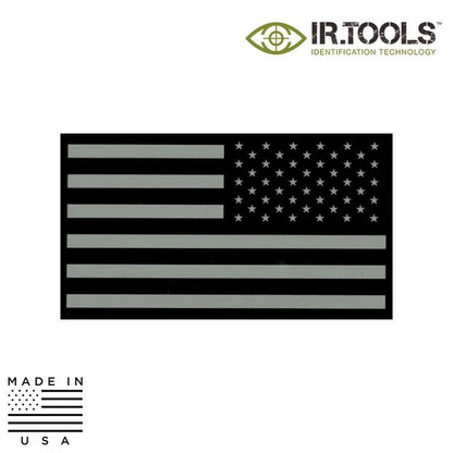 IR.TOOLS Infrared Reversed Flag Patch Tan/Black