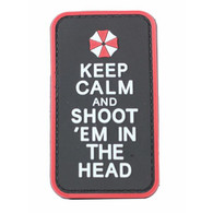 Keep Calm And Shoot PVC Morale Patch