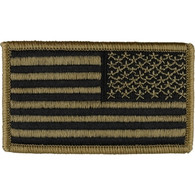 Reverse Flag Embroidered Patch (OCP Multicam)