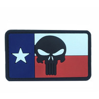 Texas Flag Punisher PVC Patch