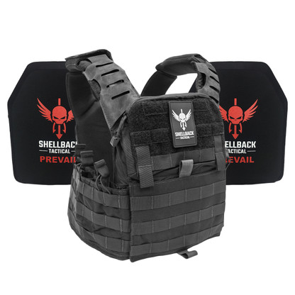 Shellback Tactical Banshee Elite 2.0 Active Shooter Kit with Level IV 1155 Plates Black