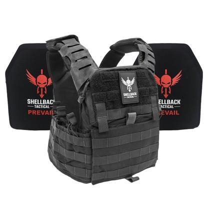 Shellback Tactical Banshee Elite 2.0 Active Shooter Kit with Level IV 1155 Plates Black