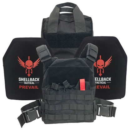 Shellback Tactical Defender Active Shooter Armor Kit  Black