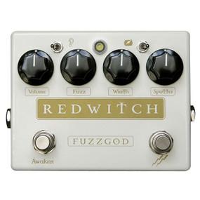 Red Witch Fuzz God II Guitar Effects Fuzzer Pedal (FUZZGOD2)