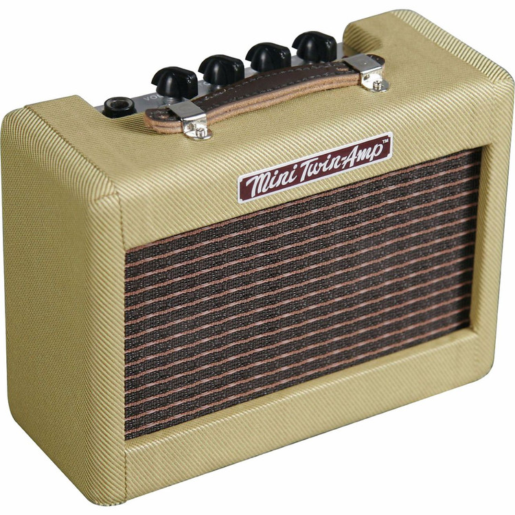 Fender Mini '57 Twin-Amp Guitar Amplifier, Tweed 023-4811-000 (023-4811-000)