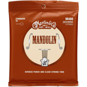 Martin M400 80/20 Bronze Mandolin Strings, Light