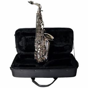 Mirage SX60ANI Student Eb Alto Saxophone with Case, Nickel (SX60ANI)