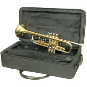 Mirage M40151 Student Bb Trumpet With Case, Brass