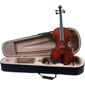 "Palatino Campus VA-350 Solid Hand Carved 16"" Viola Outfit with Case and Bow, Golden Brown (VA-350-16)"