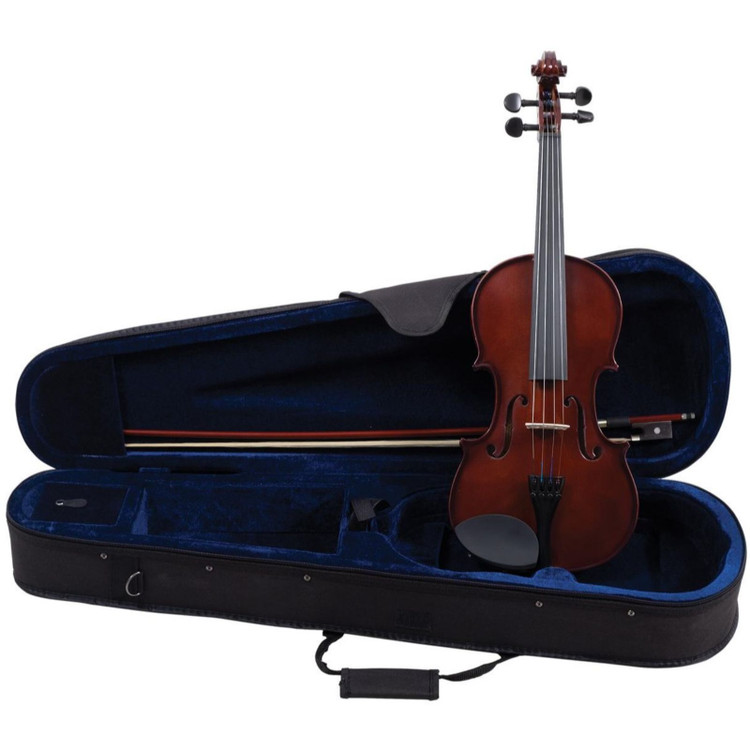 Palatino VN-450 Hand Carved Allegro Violin Outfit, 3/4 Size