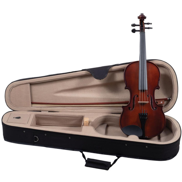 Palatino VN-350 Campus Hand-Carved Violin Outfit with Case, 4/4 Size (VN-350-4/4)