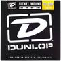 Dunlop DBN40100 Nickel Wound 4-String Electric Bass Guitar Strings, Light