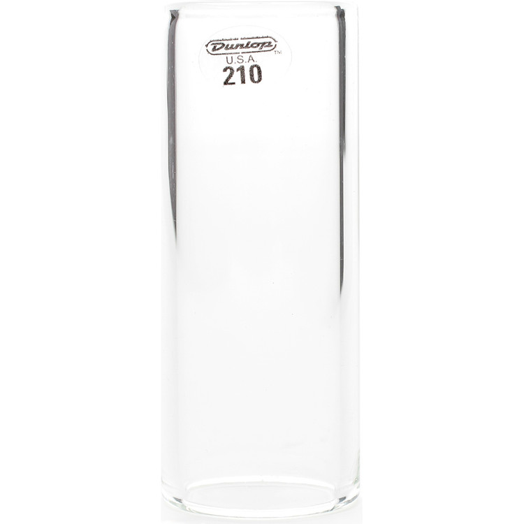 Dunlop 210 Medium Wall Tempured Glass Slide, Medium