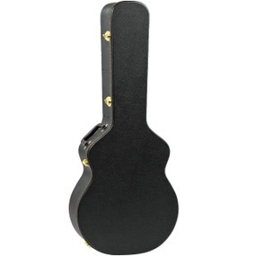 Guardian CG-020-DJ Hardshell Case for Jumbo Acoustic Guitar, Black
