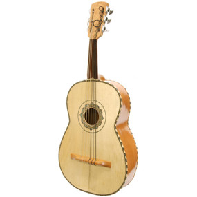 Natural New Lucida LG-GR1 Mariachi Series Acoustic Guitarron with Gig Bag