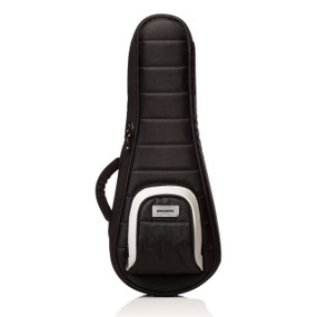 Mono M80 Series Concert and Soprano Ukulele Case, Jet Black (M80-UC-BLK)