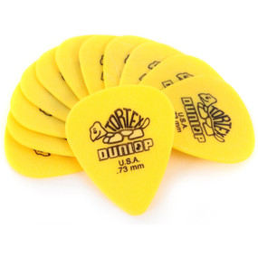 Dunlop 418P.73 Tortex Standard .73mm Guitar Picks, 12-Pack (418P.73)