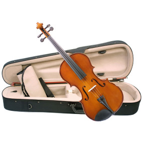 "Palatino Allegro VA-450 Hand Carved Viola Outfit With Case & Bow, 16"" Size (VA-450-16)"