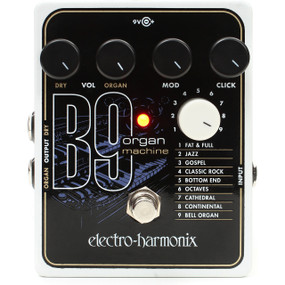 Electro-Harmonix B9 Organ Machine Effects Pedal