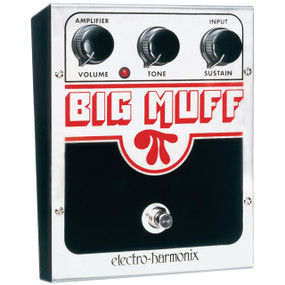 Electro-Harmonix BIG MUFF PI Classic Distortion / Sustain Effects Pedal (USBM)