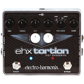Electro-Harmonix EHX Tortion JFET Overdrive/Distortion Effects Pedal