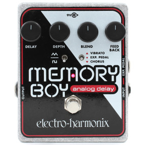 Electro-Harmonix Memory Boy Analog Delay with Chorus/Vibrato Effects Pedal