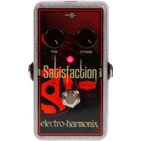 Electro-Harmonix SATISFACTION Classic Fuzz Tone Effects Pedal