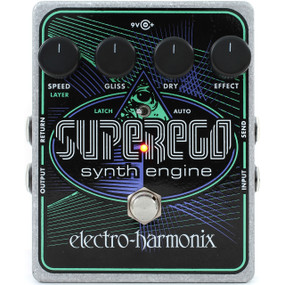 Electro-Harmonix SUPEREGO Synth Engine Effects Pedal