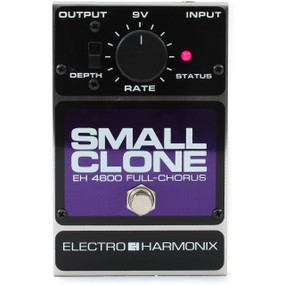 Electro-Harmonix Small Clone Analog Chorus Guitar Effects Pedal (CLONE)