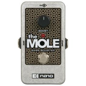 Electro-Harmonix The Mole Nano Bass Booster Effects Pedal (MOLE)