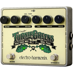 Electro-Harmonix TURNIP GREENS Multi-Effects Pedal with Power Supply