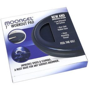 "RTOM WP7 MoonGel 7"" Inch Percussion Practice Workout Pad"