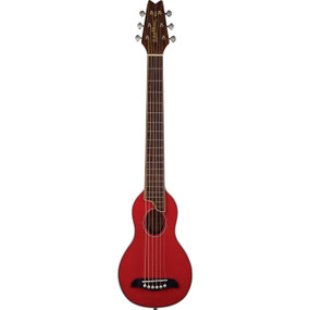 Washburn Rover RO10TR Steel String Travel Acoustic Guitar Pack